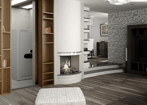 Tresorag-Firesafe - tajná místnost